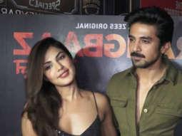 Success Party of ZEE5 Original Series 'Rangbaaz' with Cast Rhea Chakraborty Saqib Saleem