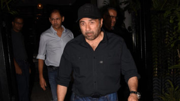 Sunny Deol and Bobby Deol spotted at Soho House in Juhu