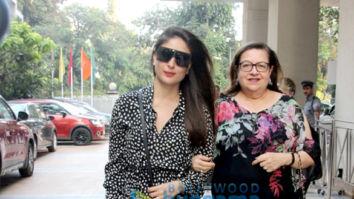 Taimur Ali Khan, Kareena Kapoor Khan and her mother, Tusshar Kapoor and his son snapped at Sea Princess