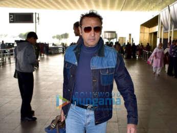 Tamannaah Bhatia and Gulshan Grover snapped at the airport