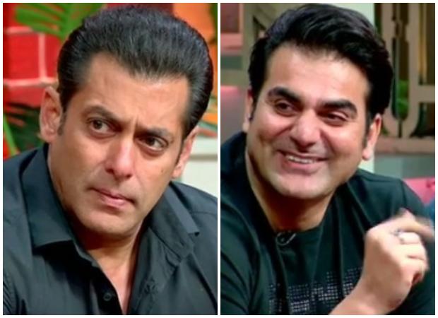 The Kapil Sharma Show Arbaaz Khan hilariously mocks Salman Khan on why he doesn't kiss on screen