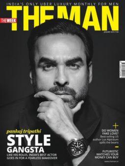 Pankaj Tripathi On The Cover Of The Man
