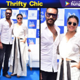 Thrifty Chic - Kajol Devgan in Alaya by Stage 3 shirt and Chola pants for an event (Featured)