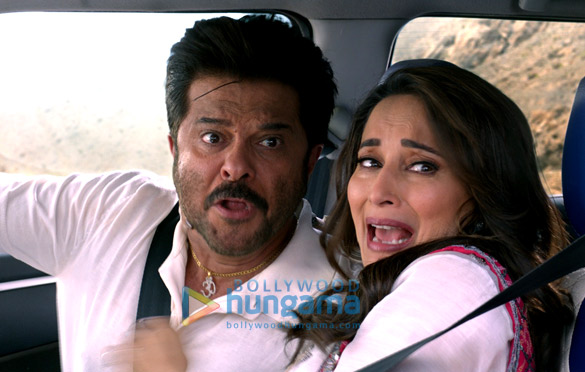 Total Dhamaal - Anil Kapoor and Madhuri Dixit shoot for an action scene and here's a glimpse