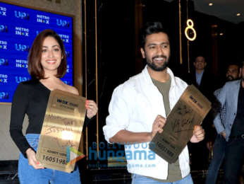Vicky Kaushal and Yami Gautam grace the special screening of 'Uri' for the Indian Army Officers