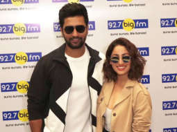 Yami Gautam & Vicky Kaushal promoting Movie URI at Big FM Office