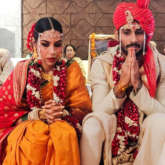 Check out pictures of Prateik Babbar and Sanya Sagar's intimate wedding ceremony