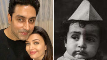 Aishwarya Rai Bachchan wishes her 'baby' Abhishek Bachchan on his birthday with a childhood photo