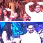 Akash Ambani - Shloka Mehta Wedding: Aamir Khan recreates 'Aati Kya Khandala' with the bride-to-be in the filmiest way at the sangeet ceremony