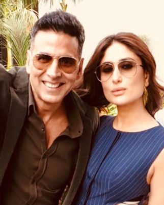 Akshay Kumar is trying hard to keep up with Good News glamourous co-star Kareena Kapoor Khan