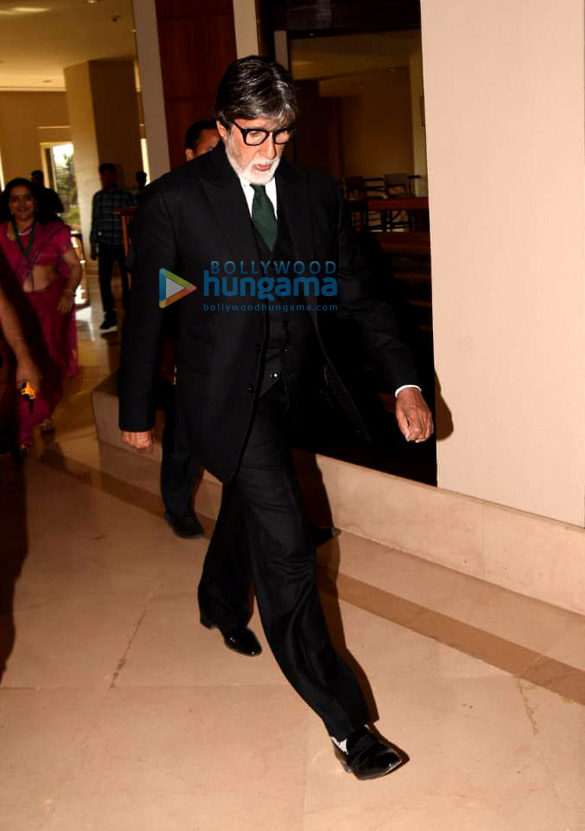 Amitabh Bachchan snapped at National Viral Hepatitis Control awareness program