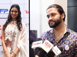 Amrita Rao, Comedian Balraj and others at Launch of Public Service Film Headrest Part 1