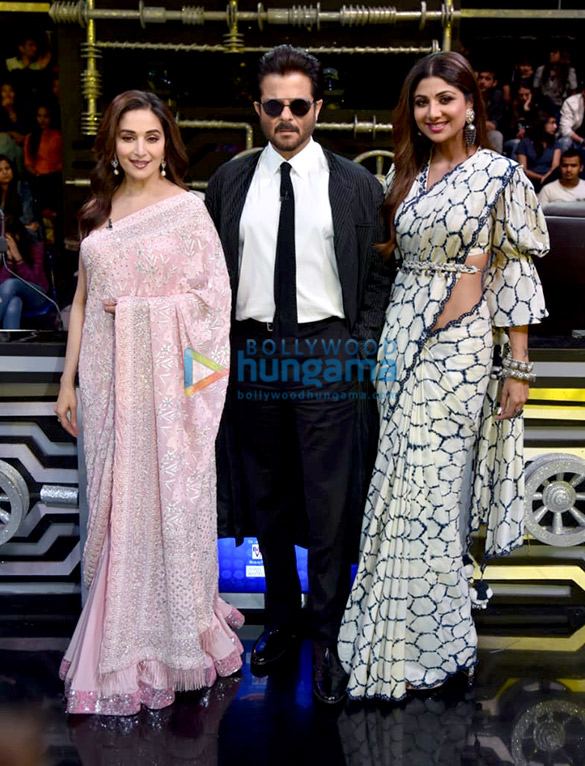 Anil Kapoor and Madhuri Dixit snapped promoting 'Total Dhamaal' on sets of Super Dancer Chapter 3 (4)