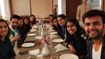 Ayushmann Khurrana treats his special fans to dinner!