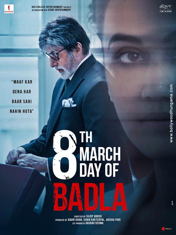 BADLA (2019) con A. BACHCHAN + Sub. Español Badla-12