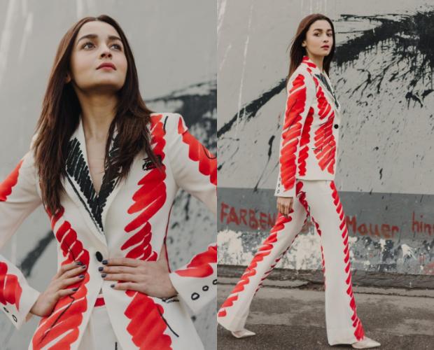 Best Dressed - Alia Bhatt in Moschino for Gully Boy promotions in Berlin