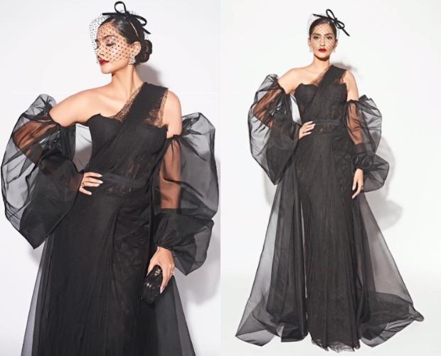 Best Dressed - Sonam Kapoor Ahuja in Shehlaa and Philip Treacy