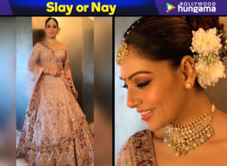 Bipasha Basu in Dolly J Studio for her sister Vijayeta Basu's wedding (Featured)