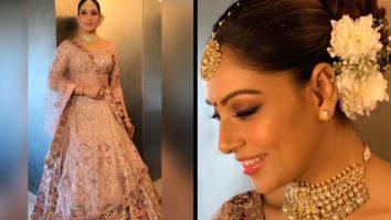 Bipasha Basu in Dolly J Studio for her sister Vijayeta Basu's wedding (Featured)