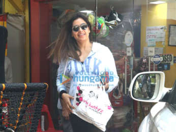 Bipasha Basu spotted at Party Hunterz store in Bandra