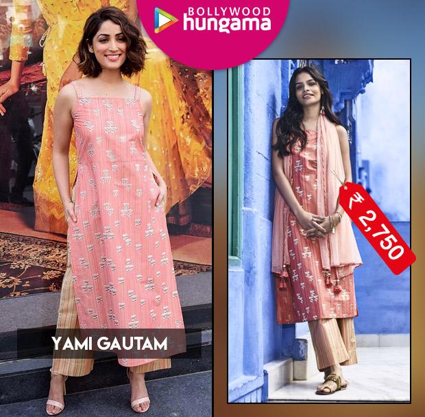 Celebrity Style - Yami Gautam in Global Desi separates
