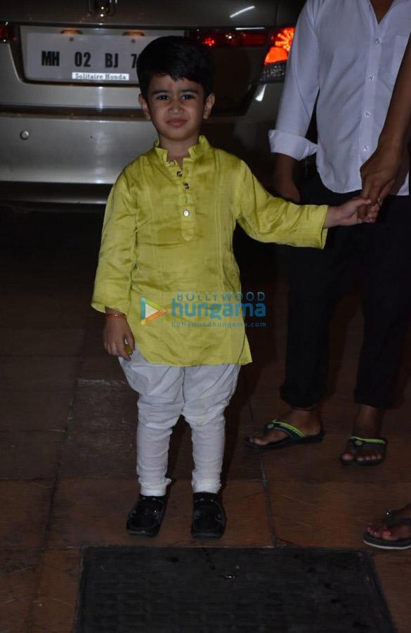 Celebs attend Ekta Kapoor's son Ravie Kapoor's naming ceremony (1)