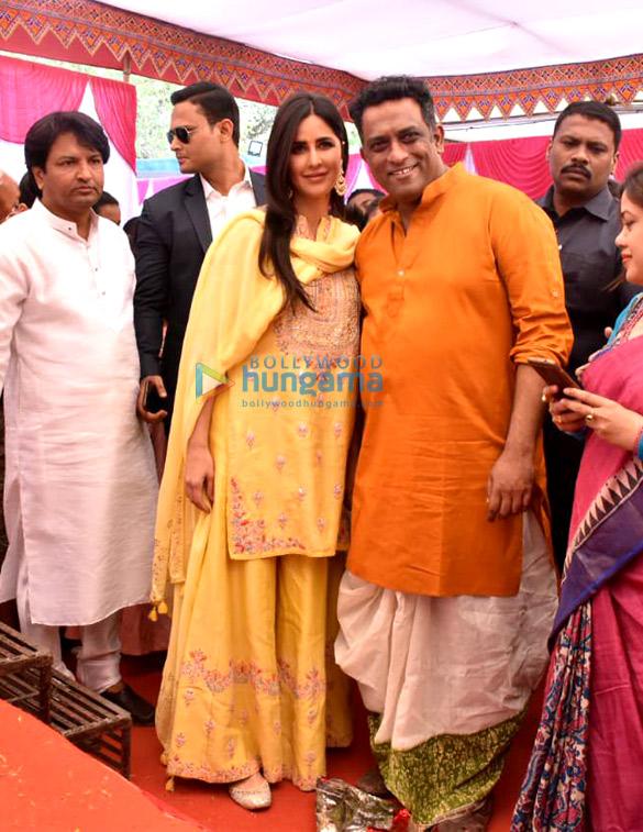 Celebs attend Saraswati Pooja at Anurag Basu's residence