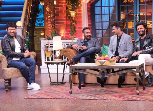 Ajay Devgn gives a SAVAGE reply to Kapil Sharma after he wishes the team of Total Dhamaal for their success!