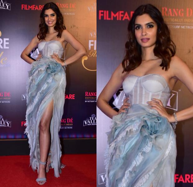Diana Penty in Shriya Som at Filmfare Glamour and Style Awards 2019