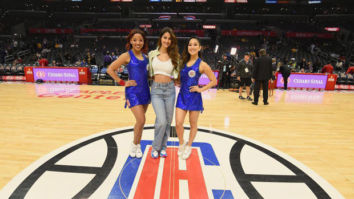 Disha Patani has a fan girl moment with NBA players and she can't be happier about it!