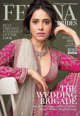 Nushrat Bharucha on the cover of Femina, 2019