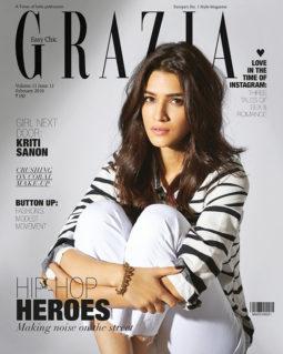 Kriti Sanon On The Cover Of Grazia