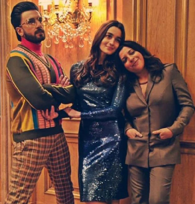 Gully Boy Ranveer Singh and Alia Bhatt beam PROUDLY with Zoya Akhtar at the Berlin Film Festival 2019 (Inside pics and video)