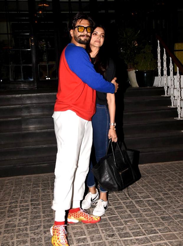 WATCH: Ranveer Singh helps wife Deepika Padukone fix her pants and the internet is gushing about their chemistry