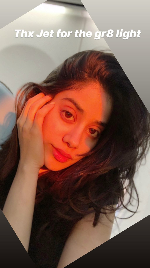 Janhvi Kapoor shows that even stars struggle with their 'candids'