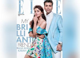 Karan Johar and Alia Bhatt for Elle magazine February 2019 (Featured)