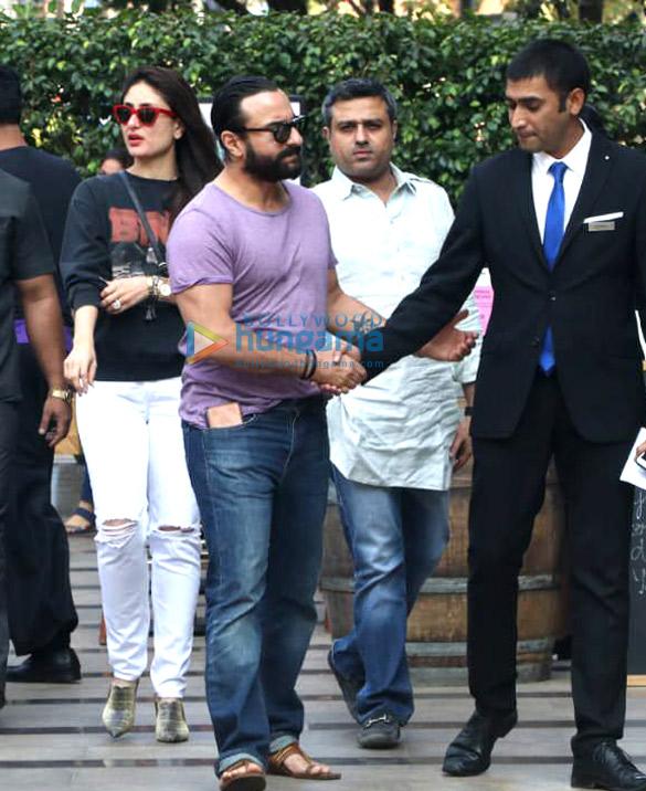 Kareena Kapoor Khan and Saif Ali Khan snapped post lunch at Yauatcha, BKC (3)