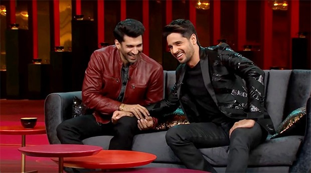 Koffee With Karan – The two eligible bachelors of Bollywood, Sidharth Malhotra and Aditya Roy Kapur, open up about their relationship status and more!
