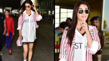Kriti Sanon in Exhale and Jodi Life at the airport for Luka Chuppi promotions (5)