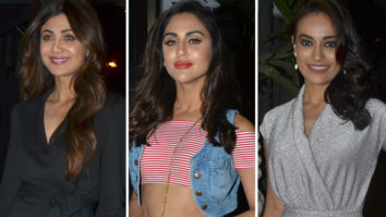 Krystle D'Souza, Shilpa Shetty and others at Launch Party of Teri Yaad