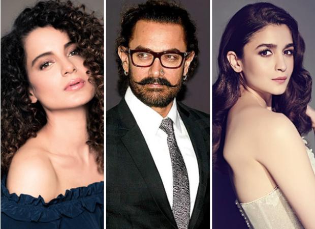 "Manikarnika star Kangana Ranaut ATTACKS Aamir Khan and Alia Bhatt for their ""Double Standards"""