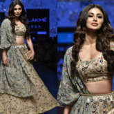Mouni Roy for Payal Singhal at LFW Summer_Resort 2019 (Featured)