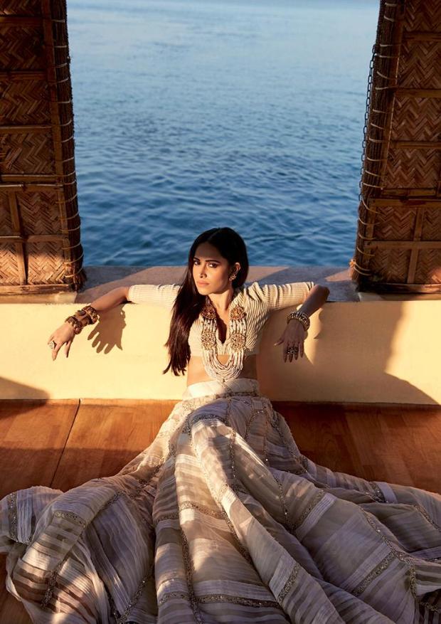 Nushrat Bharucha for Travel + Living magazine photoshoot (1)