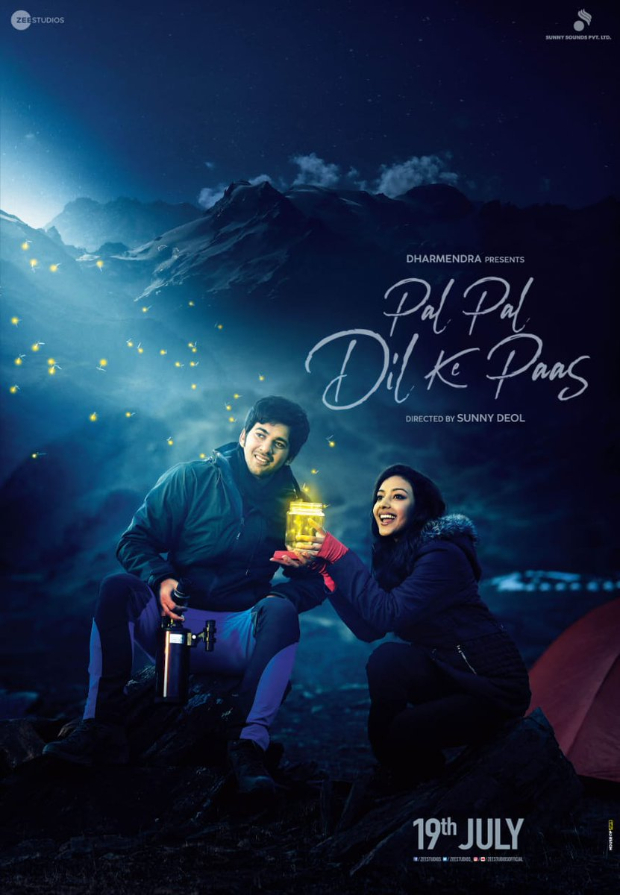 On Valentine's Day, Sunny Deol unveils first look of Karan Deol and Sahher Bambba's Pal Pal Dil Ke Paas, to release July 19, 2019