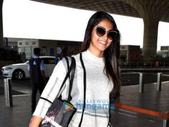 Pooja Hegde and Neha Kakkar snapped at the airport