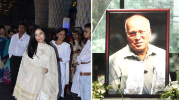 Prayer Meet of Late Raj Kumar Barjatya with many Bollywood Celebs Amrita Rao
