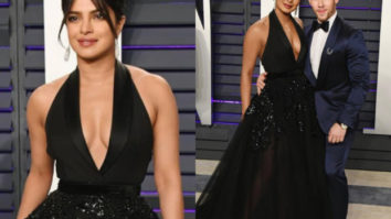 Priyanka Chopra in Elie Saab for Vanity Fair Oscars 2019 after party (Featured)