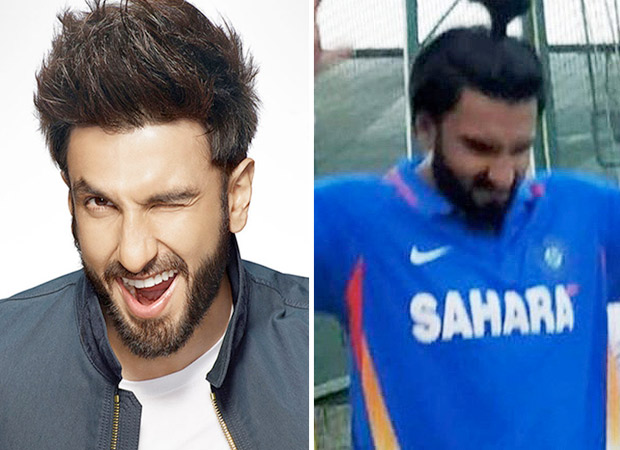 '83 – Ranveer Singh sporting a pony has left everyone SURPRISED as he practices for the role of Kapil Dev [See photo inside]