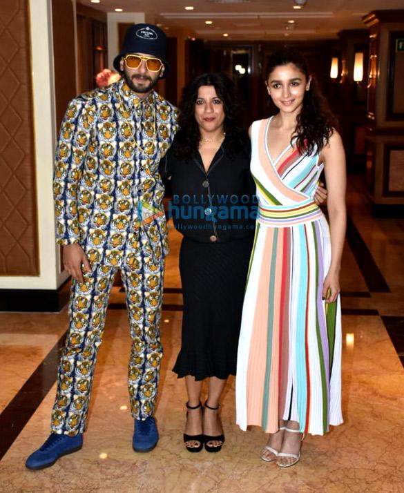 Ranveer Singh, Alia Bhatt, Zoya Akhtar snapped at Taj Lands End in Bandra