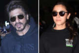 SPOTTED Shah Rukh Khan and Alia Bhatt @Airport with Family